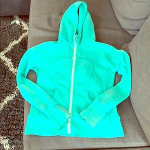 Seafoam Green Lululemon Hooded Sweatshirt